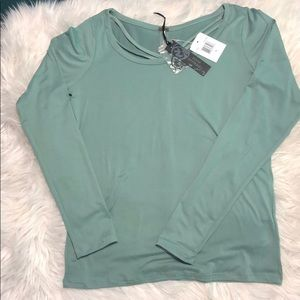 Dusty Sage long sleeve shirt